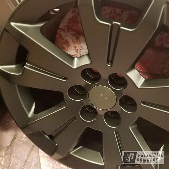 "Powder Coating: Wheels,Automotive,BLACK JACK USS-1522,Aluminum Rims,17"" Wheels,Chevy Wheels,Chevy"