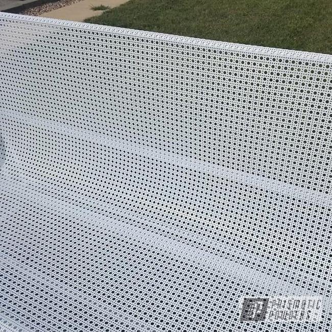 Powder Coating: Metal Glider,Patio Funiture,lawn furniture,Off White II PSB-2543
