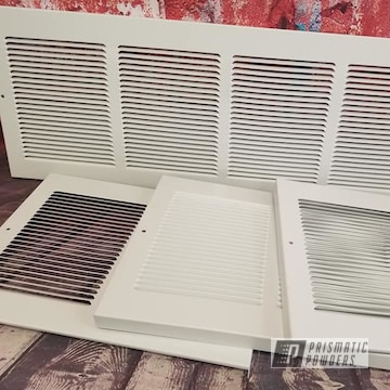 Powder Coated White Air Registers