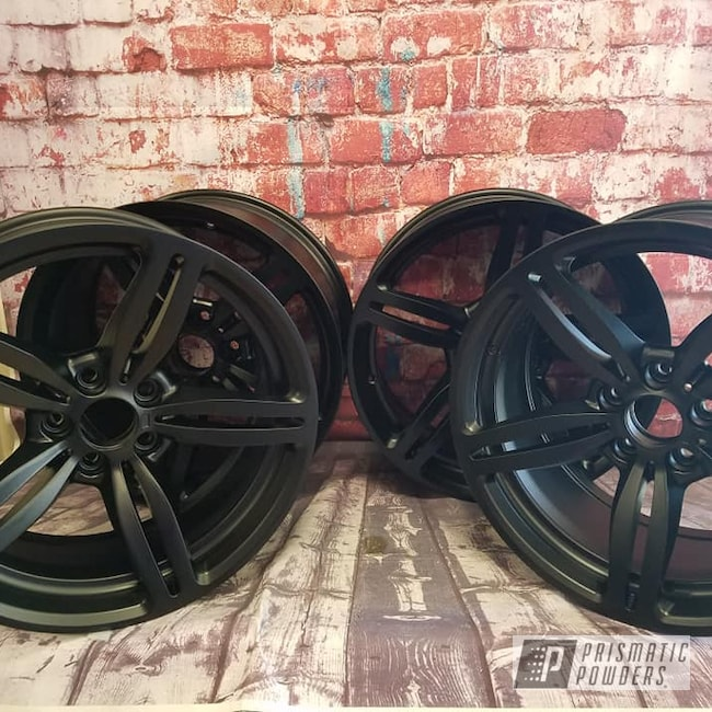 "Powder Coating: Wheels,Automotive,18"",BLACK JACK USS-1522,Aluminum Rims,18"" Rims,18"" Aluminum Wheels"
