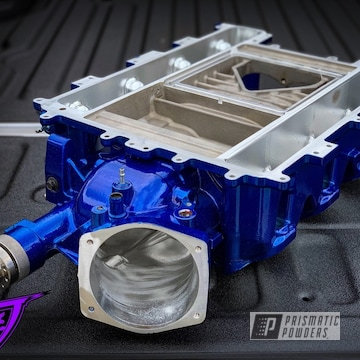 Powder Coated Blue Lsa Supercharger