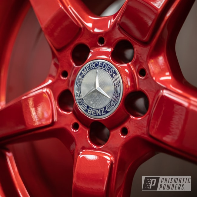 "Powder Coating: Wheels,19"" Wheels,19"",Automotive,Red,Mercedes Benz,AMG,powder coating,powder coated,AMG 19x9.5,Rancher Red PPB-6415,Miscellaneous"