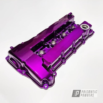 Purple Mitsubishi Valve Cover