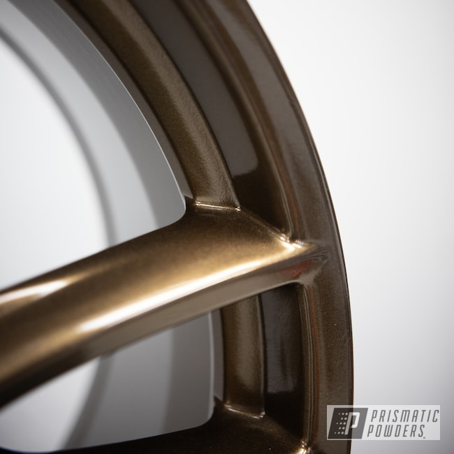 "Powder Coating: Wheels,19"" Wheels,Automotive,Bronze Chrome PMB-4124,powder coating,powder coated,Ford Mustang,Ford,Ford 19x9,Aftermarket"