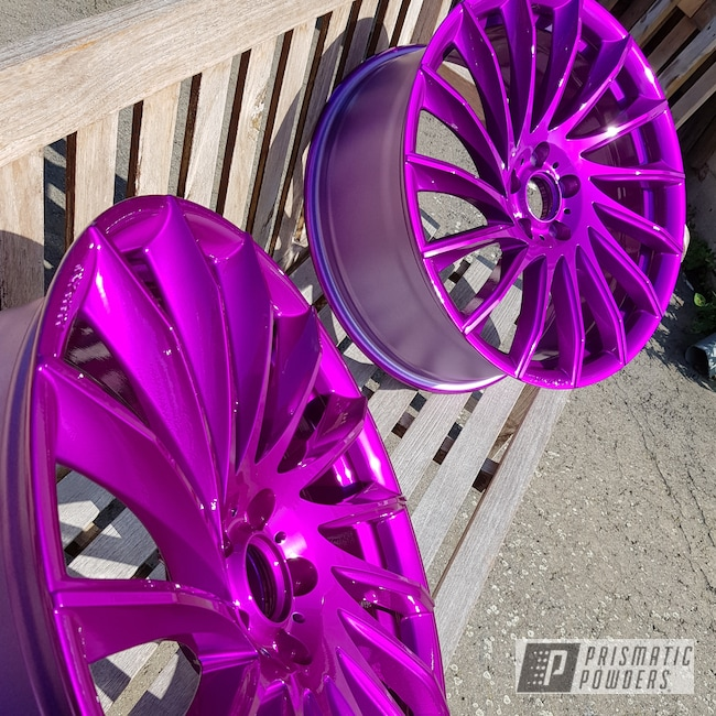 "Powder Coating: Wheels,Tomason Alloy Wheels,Automotive,Clear Vision PPS-2974,20"",20"" Aluminum Wheels,Illusion Violet PSS-4514"