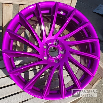 Solid Magenta 20 Inch Tomason Alloy Wheels