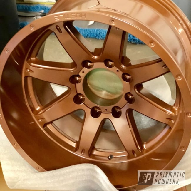 Powder Coating: Wheels,Automotive,Copper Frost PMB-5643