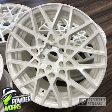 White Diamond Pearl Wheels