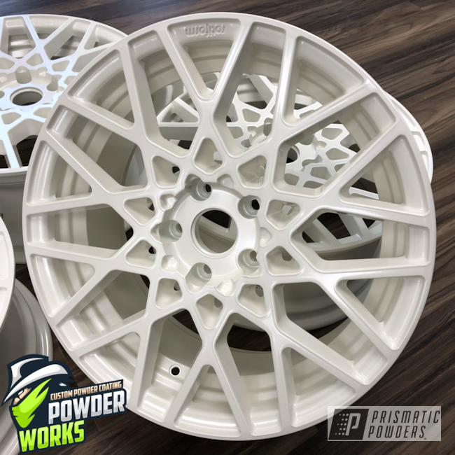 Powder Coating: Wheels,Automotive,Solid Tone,Diamond Pearl PMB-1857