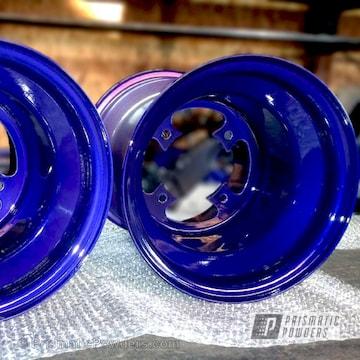 Bently Blue Over Super Chrome