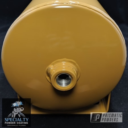 Powder Coating: Air Tank,Western Beige PSS-4633,Miscellaneous
