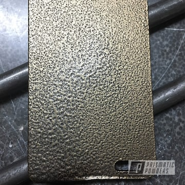 Textured Bronze And Gold Test Sample