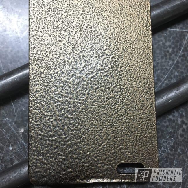 Powder Coating: Sample,ANTIQUE BRNZ ROCK ULB-8148,Miscellaneous