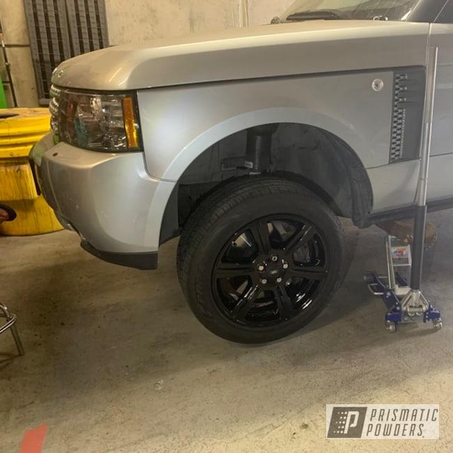 "Powder Coating: Wheels,Automotive,20"" Wheels,Range Rover,Ink Black PSS-0106,20"""