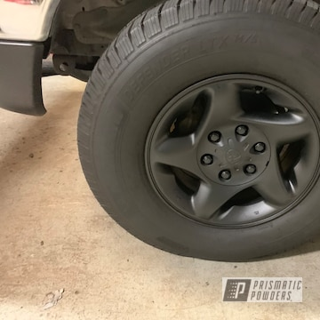 Black 19 Inch Toyota Pickup Wheels