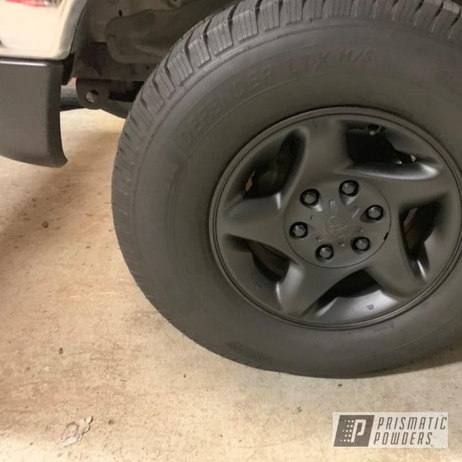 """Powder Coating: Wheels,19"""",Automotive,BLACK JACK USS-1522,Toyota"""