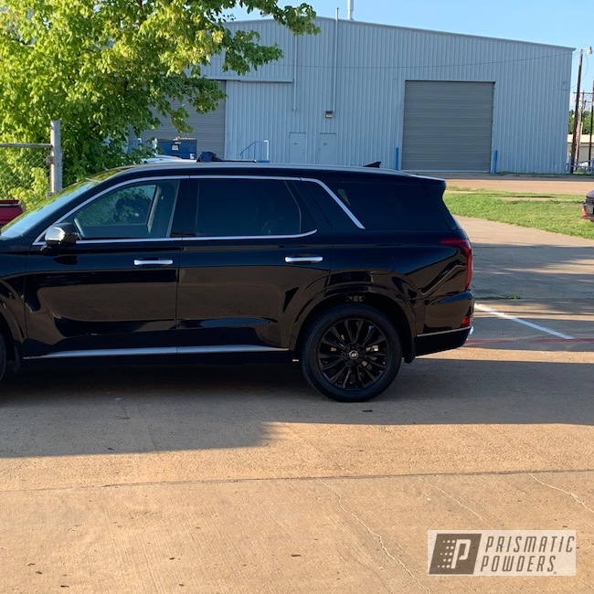 "Powder Coating: Wheels,Automotive,Ink Black PSS-0106,20"",Kia,20"" Wheel"
