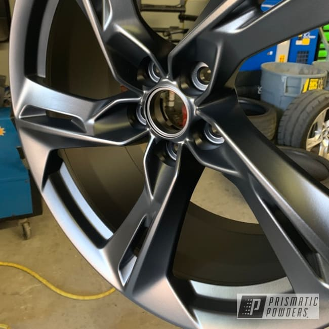 Powder Coating: Wheels,Automotive,BLACK JACK USS-1522,Chevrolet,Camaro