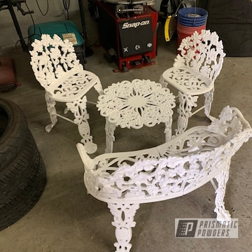 White Patio Furniture