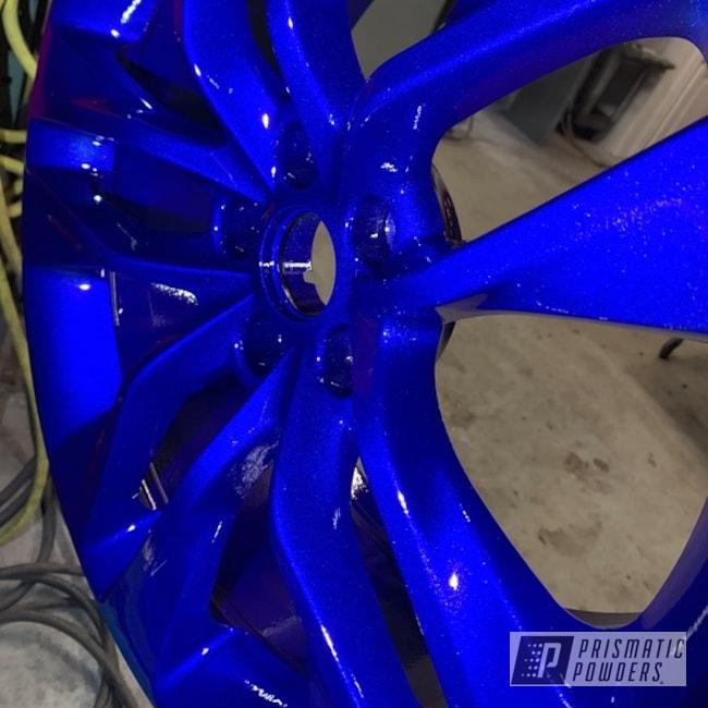 "Powder Coating: Wheels,Automotive,Clear Vision PPS-2974,Acura,20"",Illusion Royal PMS-6925,20"" Wheels"