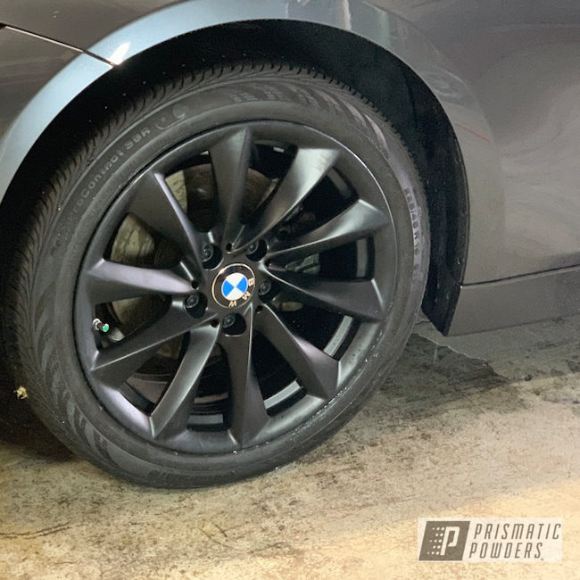 "Powder Coating: Wheels,Automotive,BLACK JACK USS-1522,BMW,20"",20"" Wheel"