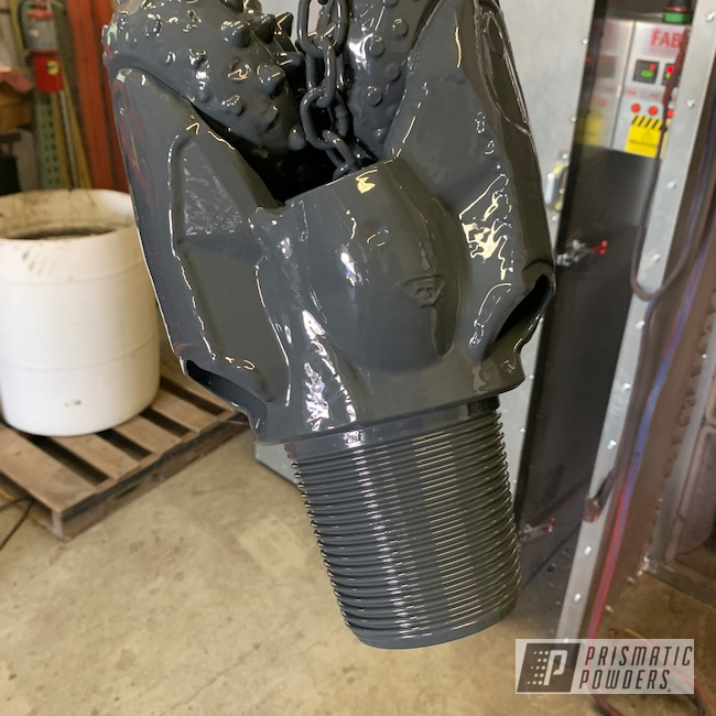 Powder Coating: Drill Head,Cannon Grey PSS-2748,Miscellaneous