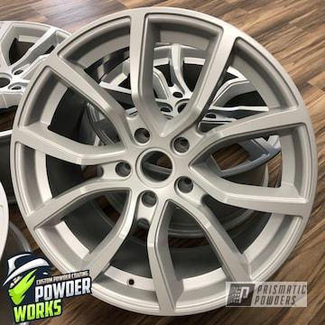 Powder Coated Silver Wheels