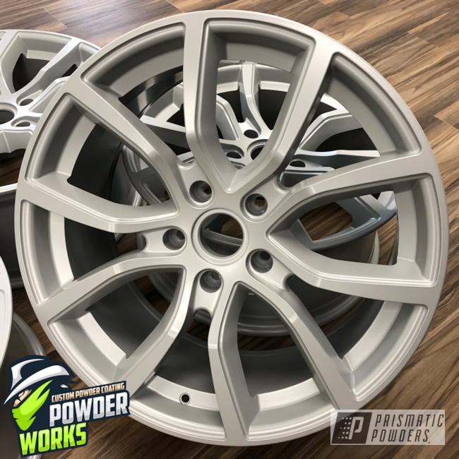 Powder Coating: Wheels,Automotive,STAR SILVER UMB-5045