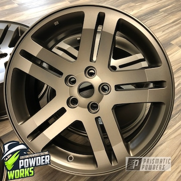 Rims In Metallic Bronze