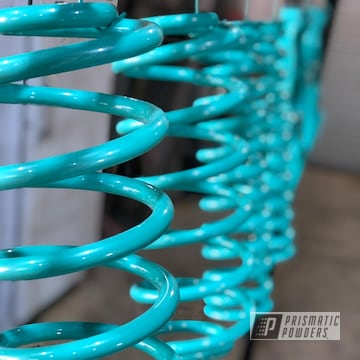 Teal Escalade Suspension
