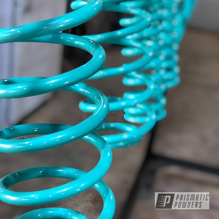 Powder Coating: Tropical Breeze PSS-6837,Automotive,Clear Vision PPS-2974,Whipped Pearl Step 2 PPB-6802,Escalade,Whipped Pearl Step 1 PMB-6801,Cadillac,Suspension
