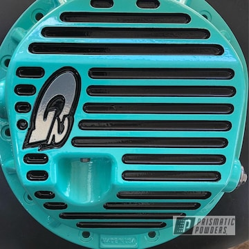 Teal Differential Cover
