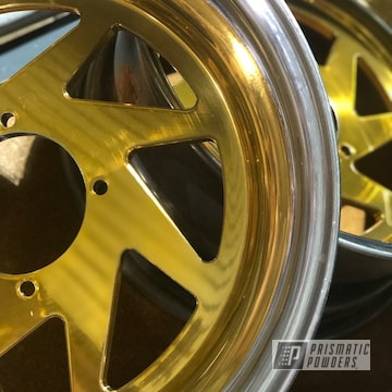 Gold Two Toned Rims