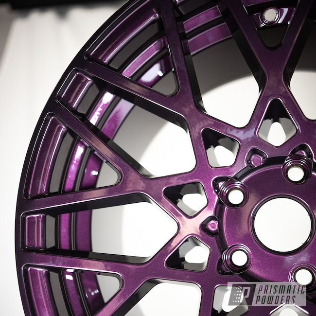 "Powder Coating: Wheels,19"" Wheels,19"",Automotive,Misty Burgundy PMB-1042,powder coating,powder coated,BLQ,Aftermarket,19x10,Rotiform"