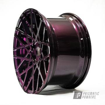 Purple 19 Inch Rotiform Blq Wheels