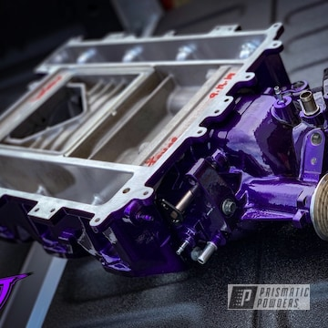 Powder Coated Purple Ported Supercharger