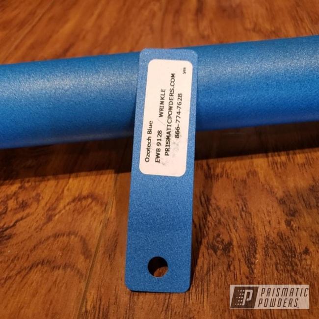 Powder Coating: 10lbs,Steel Mace,Ozotech Blue EWB-9128,Miscellaneous