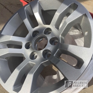 Silver Silver 18 Inch Aluminum Wheels