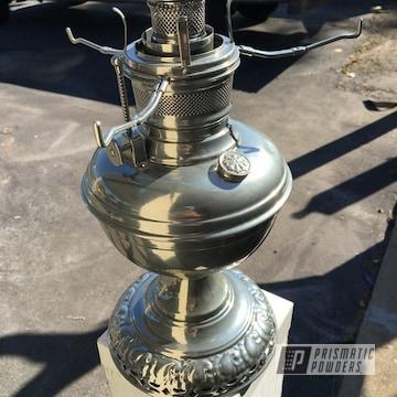 Powder Coated Chrome Vintage Oil Lamp