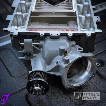 Powder Coated Grey Cadillac Cts-v Lsa Supercharger