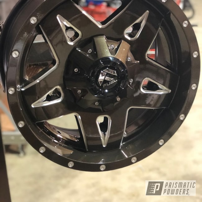 "Powder Coating: Wheels,Automotive,20"" Wheels,20"",Fuel Wheels,Beaver Bronze PMB-7056"