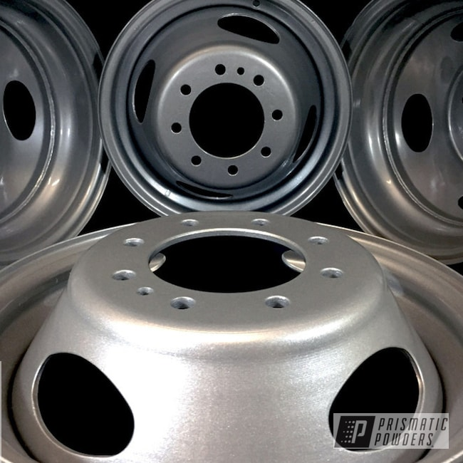 Powder Coating: Wheels,Clear Vision PPS-2974,Custom Powder Coated Wheels