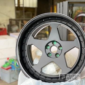 Matte Black 18 Inch Wheels