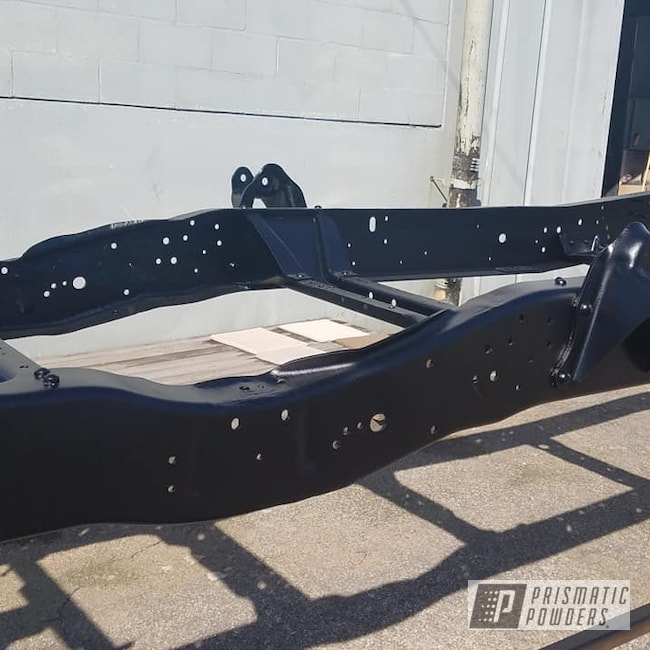 Powder Coating: Automotive,BLACK JACK USS-1522,Truck Frame,Frame