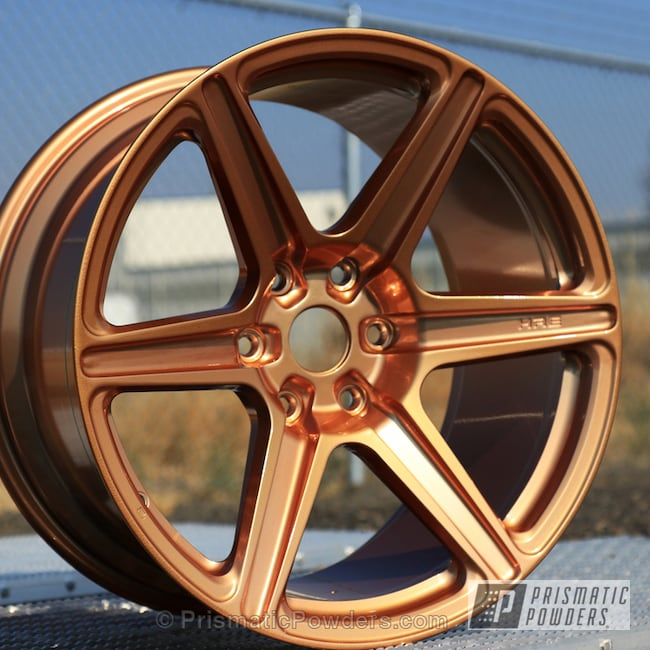 Powder Coating: Illusion True Copper PMB-10044,Wheels,Clear Vision PPS-2974