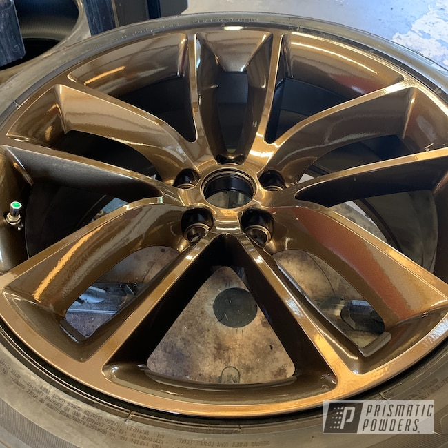 "Powder Coating: Wheels,Automotive,Clear Vision PPS-2974,20"" Wheels,METALLIC BRONZE UMB-0336,Dodge,20"",Challenger"