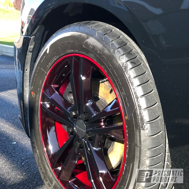 "Powder Coating: Wheels,19"",Automotive,Clear Vision PPS-2974,Charger,GLOSS BLACK USS-2603,Dodge,Illusion Cherry PMB-6905,19's"