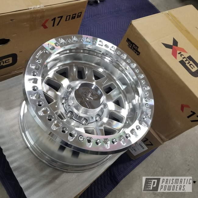 """Powder Coating: Wheels,candy , rancher , jeep,Automotive,17,17"""" Wheels,Rubicon,Jeep,Rancher Red PPB-6415,KMC"""