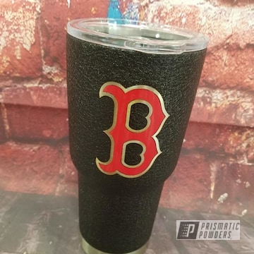 Powder Coated Boston Red Sox Tumbler