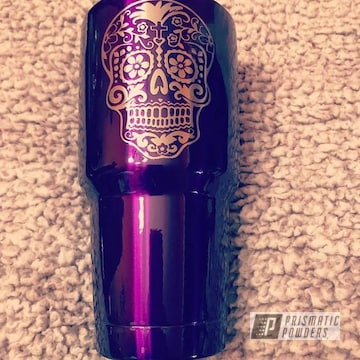 Powder Coated Purple 30oz Ozark Trail Tumbler